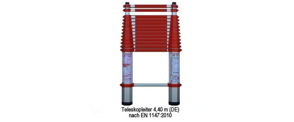 Teleskop Rettungsleiter