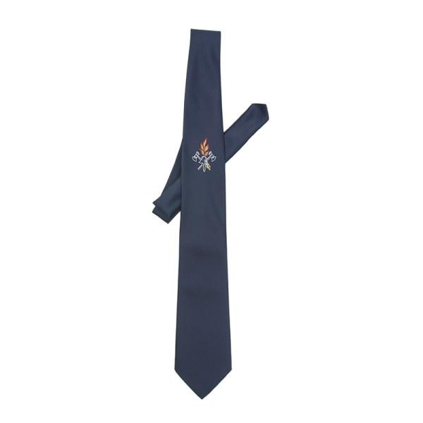 Krawatte, mit Emblem (gewebt)