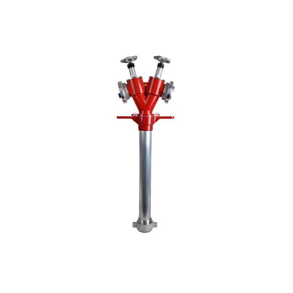 Hydrantenstandrohr DN 50 mit Absperrung, 2xC