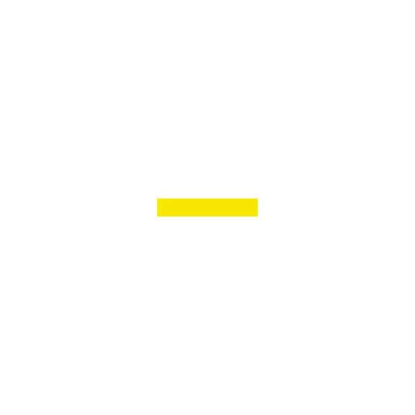 Reflexgewebe gelb 5 cm zum Aufnähen