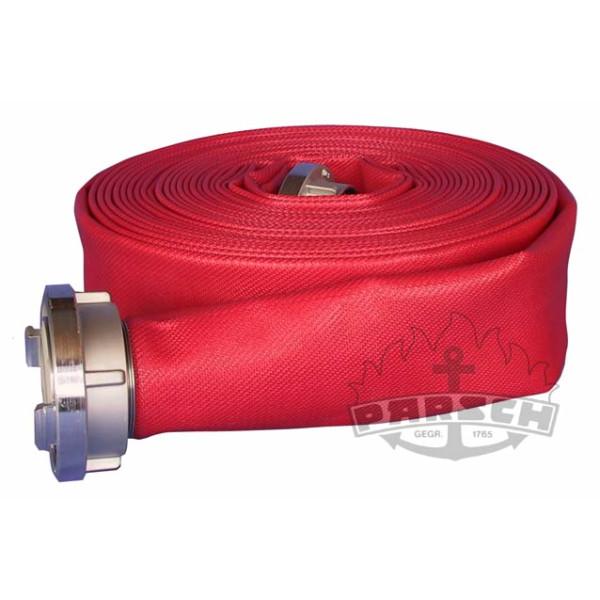 Feuerlösch-Druckschlauch C52 DIN 14811:2008-01, 3-Fach, rot beschichtet