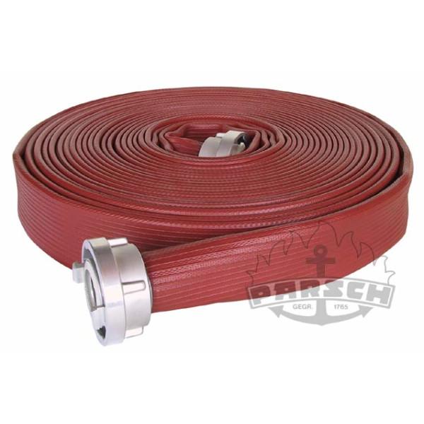 Feuerlösch-Druckschlauch B75 DIN 14811:2008-01, vollgummiert, rot