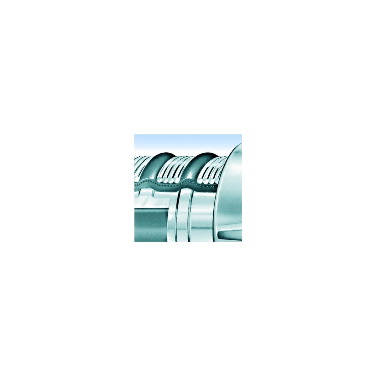 Gartendraht Rolle Zaun Bastel Draht Gr/ün Spanndraht 100 m lang PVC Mantelung verzinkter Eisendraht korrosionsbest/ändig Drahtseil Drahtst/ärke 1,4 mm Zaunzubeh/ör Universal Bindedraht