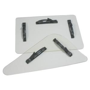 Splitterschutz-Set, 650 x 450 x 40 mm