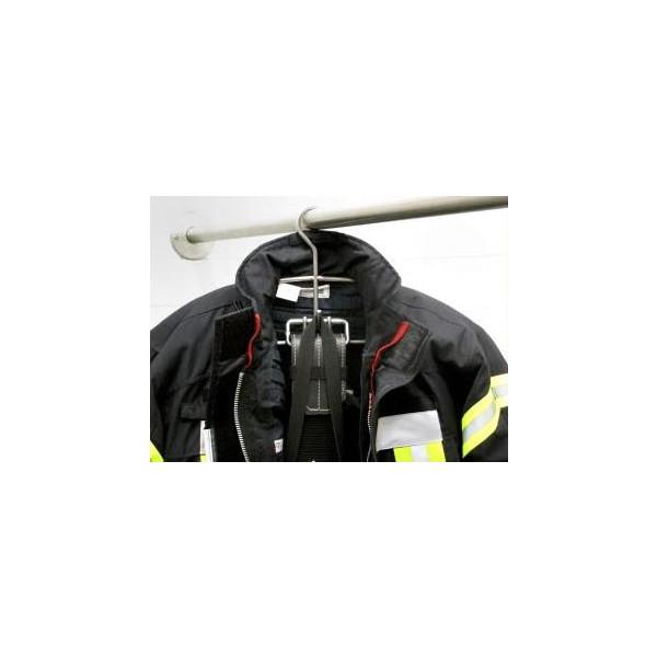Feuerwehr-Kleiderbügel für Einsatzbekleidung