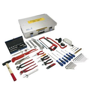 Handwerkzeugkasten DIN 14881-FWKa, komplett in Firebox