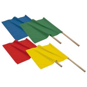 Warnflaggensatz