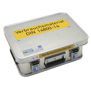 FireBox, Verbrauchsmaterial DIN 14800-VMK