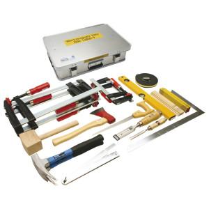 Werkzeugkasten Holz DIN 14800-WKH, 600 x 400 x 150 mm