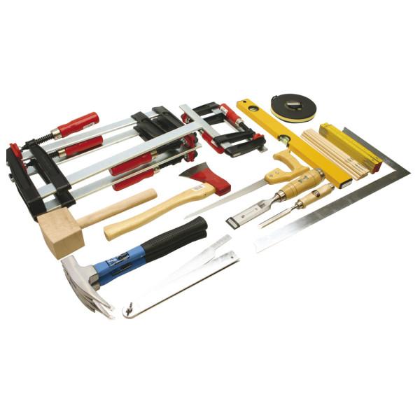 Werkzeugsatz Holz DIN 14800-WKH, Werkzeugsatz ohne Kasten