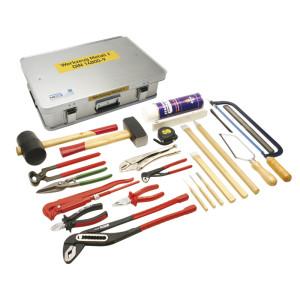 Werkzeugkasten Metall 2 DIN 14800-WKM 2, komplett in Firebox
