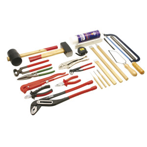Werkzeugsatz Metall 2 DIN 14800-WKM 2, Werkzeugsatz ohne...