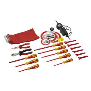 Elektrowerkzeug DIN 14885, Werkzeugsatz ohne Kasten