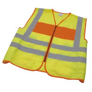Signalweste, THW (hinten), gelb/orange