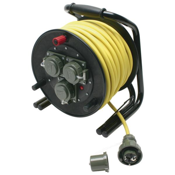 Leitungsroller THW 230 V, 16 A DIN 14680, 25 m