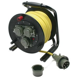 Leitungsroller THW 230/400 V, 16 A DIN 14680, 25 m