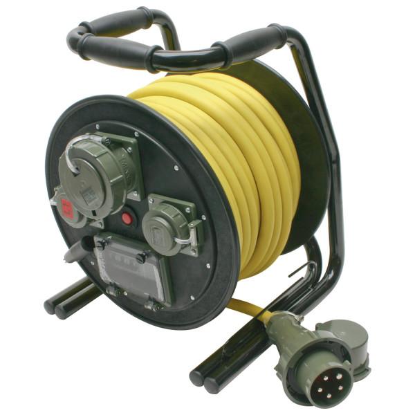 Leitungsroller THW 400 V, 32 A, 25 m, L1/L2