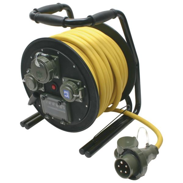 Leitungsroller THW 400 V, 32 A, 30 m, L3/L2