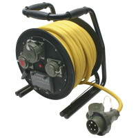 Leitungsroller THW 400 V, 32 A, 30 m, L1/L2