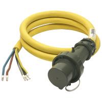 Einspeiseleitung mit Stecker THW-Version 400 V, 63 A, 3 m
