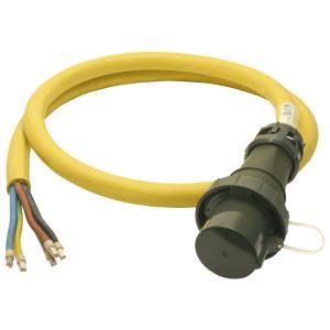 Einspeiseleitung mit Stecker THW-Version 400 V, 125 A, 3 m