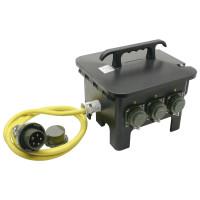 Mennekes Sechsfachverteiler THW-Version 230 V/400 V, 32 A