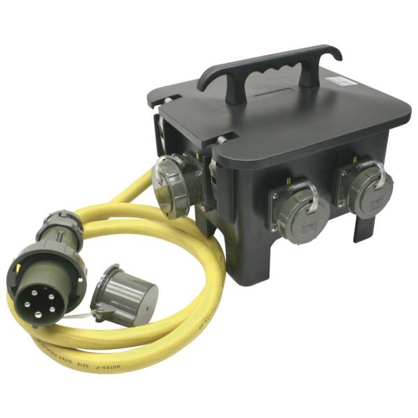 Mennekes Sechsfachverteiler THW-Version 230 V/400 V, 63 A