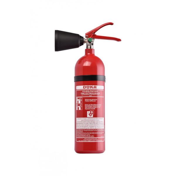 Döka 2 kg-Kohlendioxidlöscher Typ KS2 CS-1