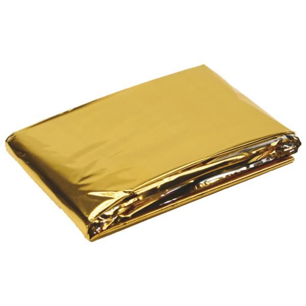 Rettungsdecke Gold/Silber