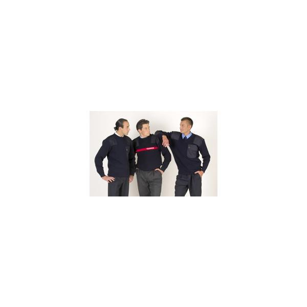Feuerwehr-Pullover 100% Schurwolle