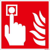 Brandschutzschild ISO 7010 / F005 Brandmelder