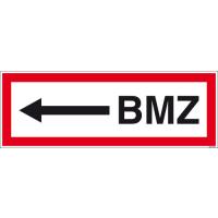 Textschild BMZ