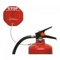Diebstahlsicherung für Feuerlöscher
