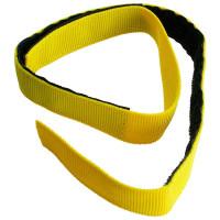 Klettband für Schlauchpaket, gelb, 700 x 25 mm