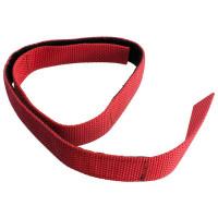 Klettband für Schlauchpaket, rot, 700 x 25 mm