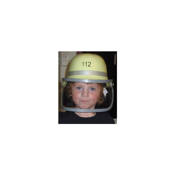 Kinder - Feuerwehrhelm mit Klappvisier