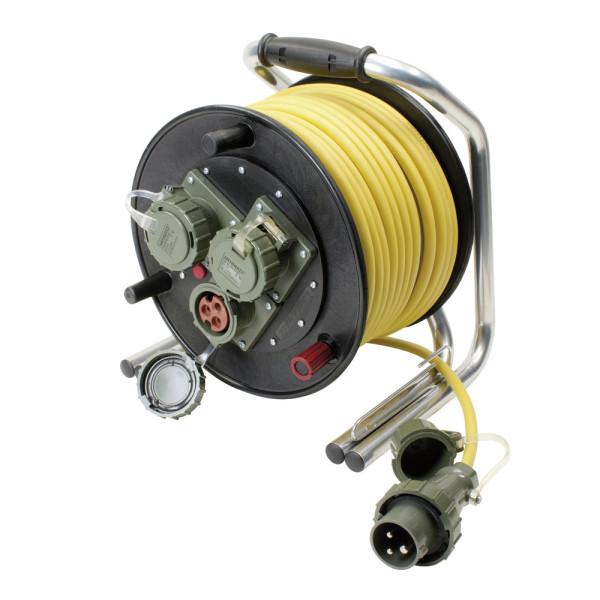 Leitungsroller Feuerwehr 230 V, 16 A, CEE DIN 14680, 50 m