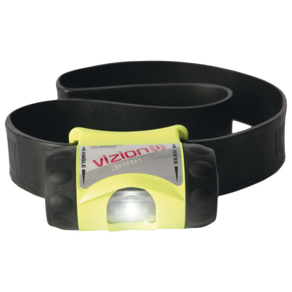 UK Stirnlampe 3AAA Vizion [i] ATEX, neongelb
