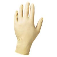 Latex-Einmalhandschuh, L, gepudert