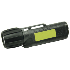 UK Helmlampe 3AA eLED CPO, ES Frontschalter, schwarz,...