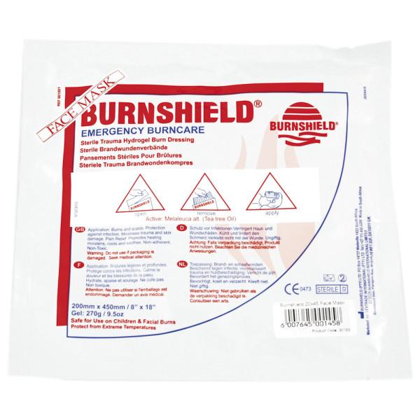Burnshield Brandwundenverband, Gesichtsmaske, 20 x 45 cm