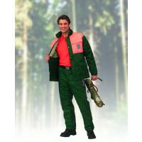 Forstschutz-Jacke mit Schnittschutzeinlage