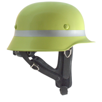 Feuerwehr-Helm ALEX015 aus starkem Leichtmetall (EN443:2008) von außen verstellbar