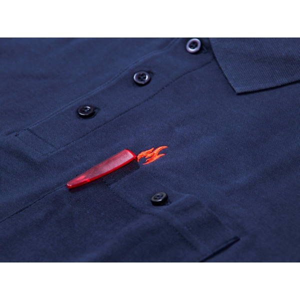Polo-Shirt FireBlaze mit roten Stick