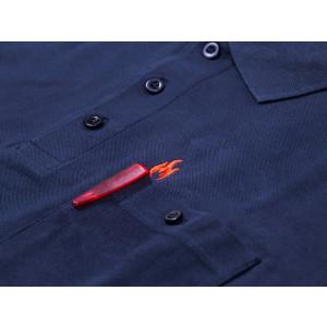 Polo-Shirt FireBlaze mit roten Stick