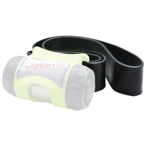 UK Ersatzband aus Gummi für die UK Vizion, schwarz