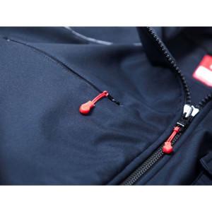Softshell-Jacke FireBlaze mit Membrane und Reflexbiese