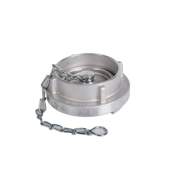Blindkupplung m. Kette B DIN 14312