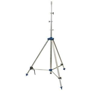 Teleskop-Dreibeinstativ Edelstahl mit Luftdämpfung
