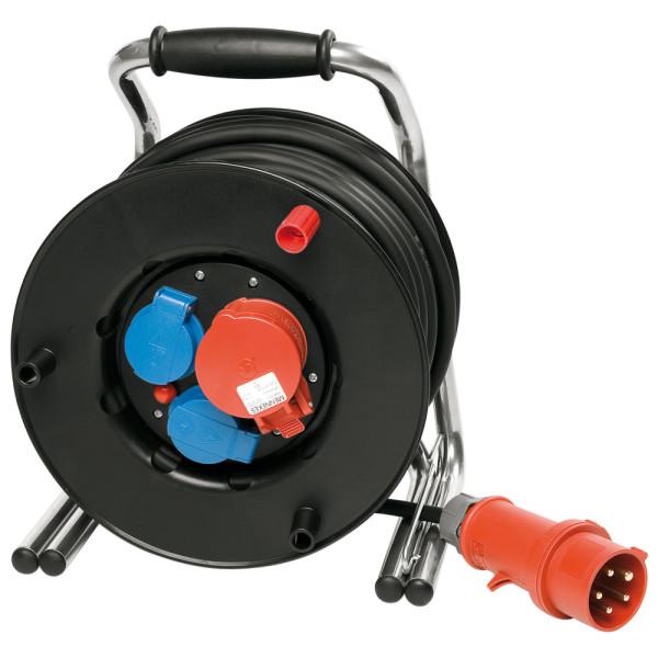 Leitungsroller Spezialkunststoff 230/400 V, 25 m, H07RN-F5G2.5